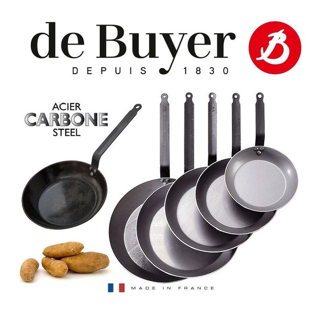 DE BUYER CARBONE PLUS Ø 34 CM (5110.36)