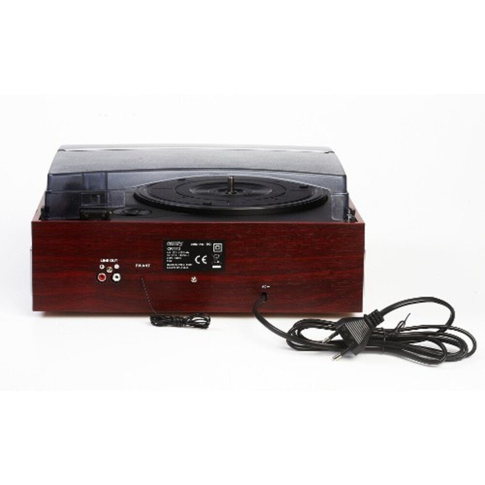 Turntable with radio Adler CR 1113 (black color)